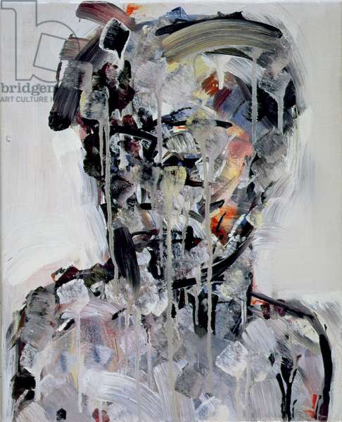 Portrait of David Bowie, 1994 (oil on canvas)
