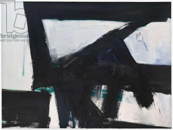 Lehigh V Span, 1959-1960 (oil on canvas)