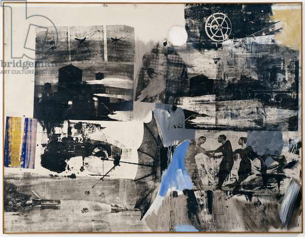 Scanning, 1963 (oil and silkscreen ink on canvas)