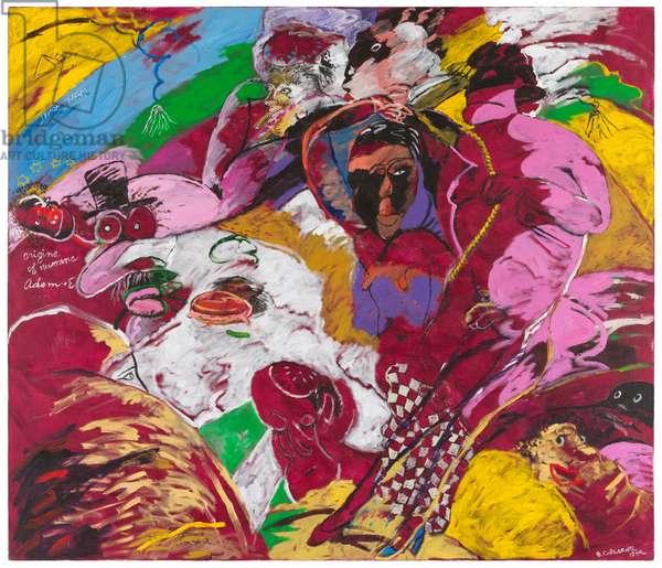 Ham, 1999 (acrylic paint on canvas)