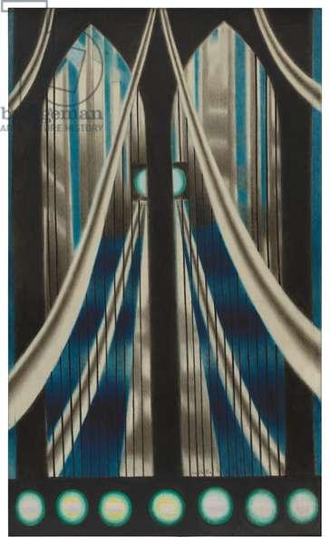 Bridge, 1936 (oil on canvas)