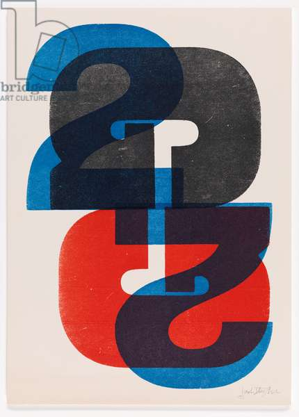 G2, 1969 (monoprint)