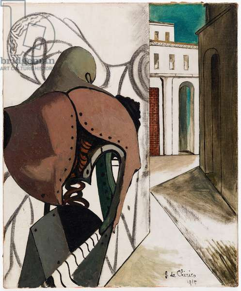 Les contrariétés du penseur (The Vexations of the Thinker), 1915 (oil on canvas)