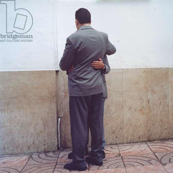 Rue de la Liberté, Tangier, 2000, 2000 (chromogenic print on aluminum)