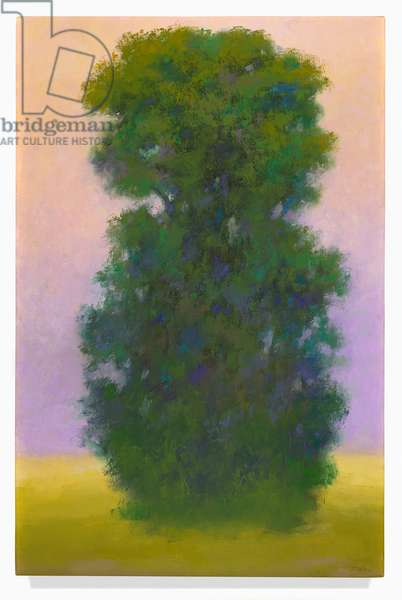Perennial Sentinel, 2000 (oil on canvas)