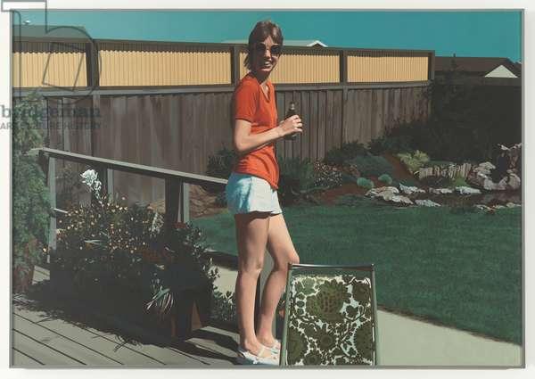 Watsonville Olympia, 1977 (oil on canvas)