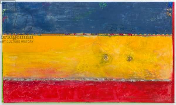 Elder Sun Benjamin, 2018 (acrylic and mixed media on canvas)