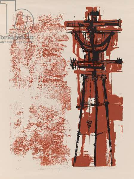 Surveying Tool, 1955 (screenprint)