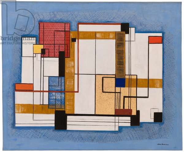 Abstraction, 1940 (oil on canvas)