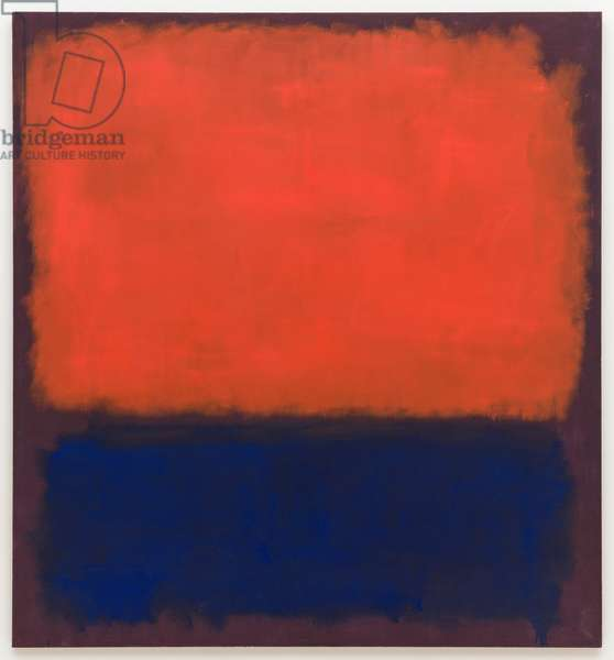 No. 14, 1960, 1960 (oil on canvas)