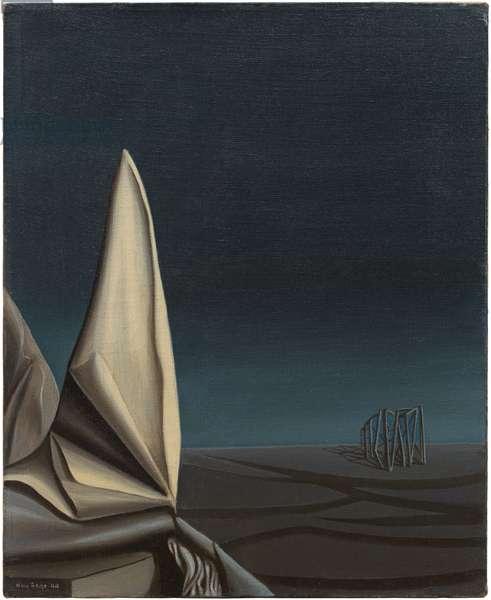 Midnight Street, 1944 (oil on canvas)