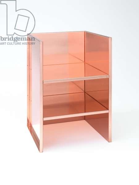 Armchair 1, 1984 (copper)