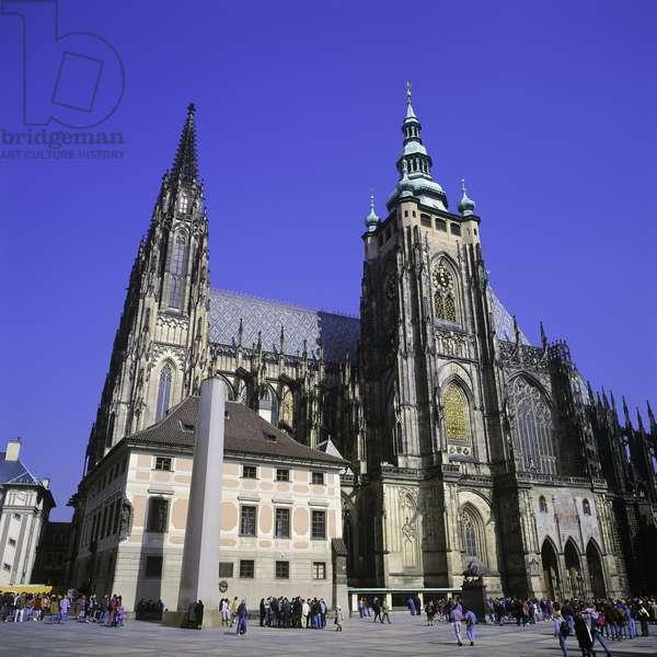 Saint Vitus' Cathedral, Prague, Czech Republic (photo)