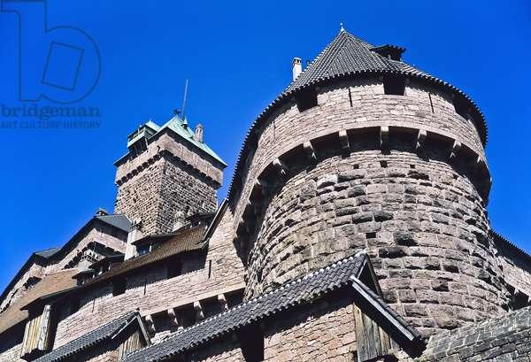 Haut-Koenigsbourg Castle, Alsace, France (photo)
