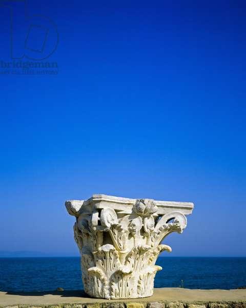 Capital, ruins of Antonine Roman thermal baths (photo)