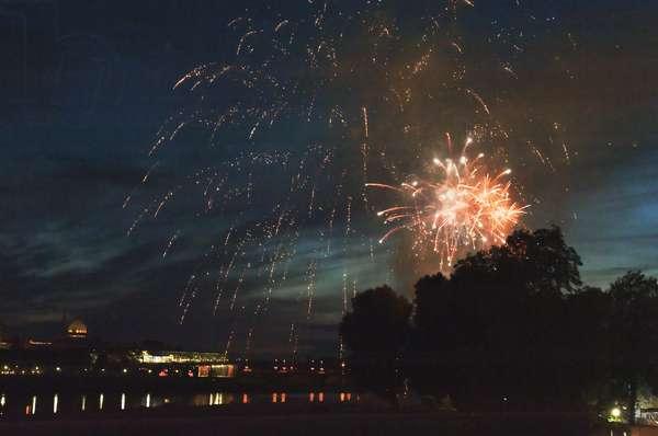Fireworks, Dresden, Germany (photo)
