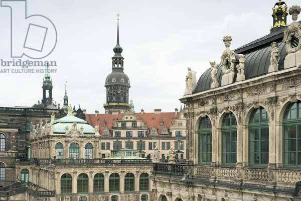 View of the Zwinger, Dresden, Germany (photo)