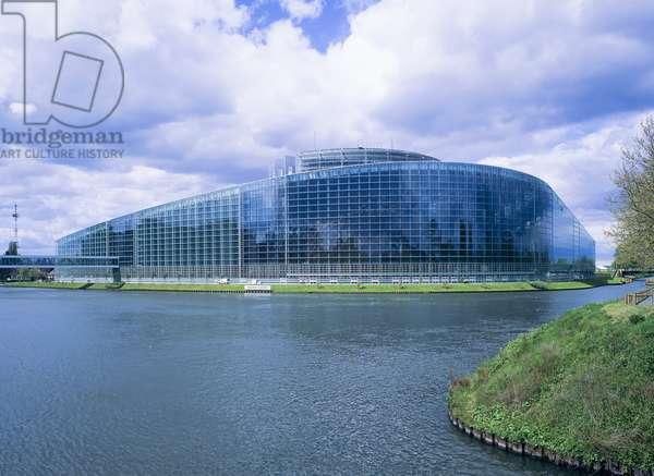 European Parliament building, Strasbourg (photo)