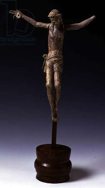 Corpus Figure (carved & gessoed wood)