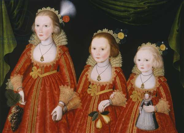 Portrait of Three Girls, c.1620 (oil on panel)