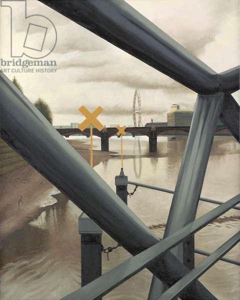 Down River, 2005 (oil on linen)