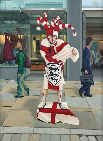 England's Glory , 2005 (oil on linen)