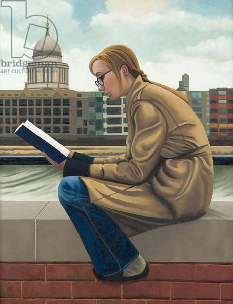 The Good Book, 2005 (oil on linen)