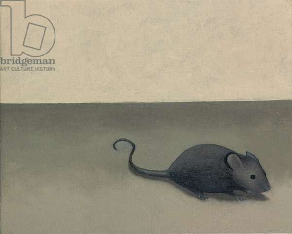 The Mouse , 2006 (oil on linen)