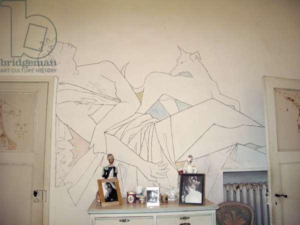 Villa Santo Sospir decorated by jean Cocteau (photo)