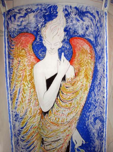 The Spirit of Sleep (painted ceiling)
