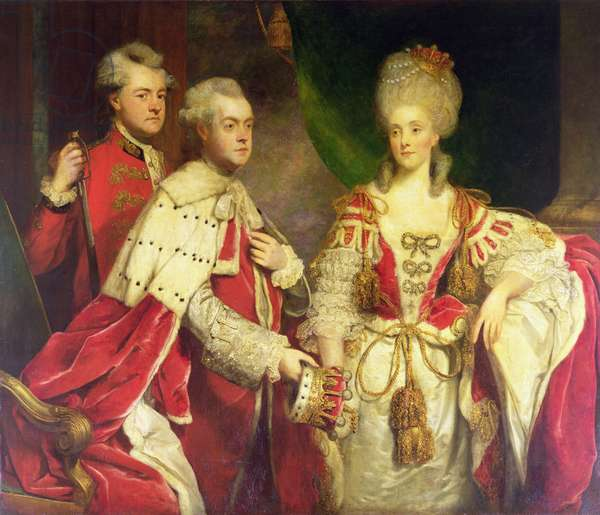 The Earl and Countess and the Hon. William Harcourt, 1780