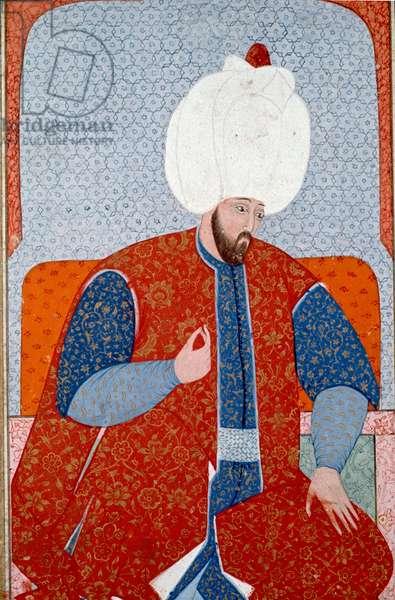 Portrait of Suleyman I, Ottoman sultan 1520-1566