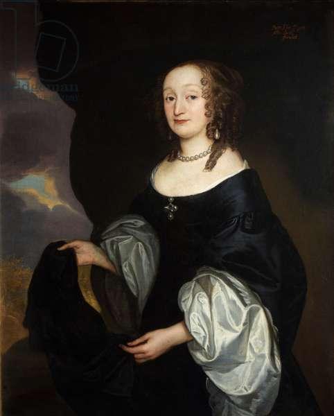 The Hon. Florence Pigott, 1647 (oil on canvas)