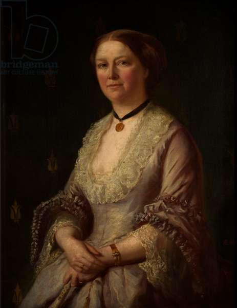 Georgiana Sophia Knyfton, 1865 (oil on canvas)
