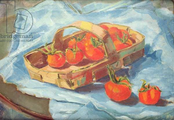 Basket of Tomatoes, c.1936 (oil on canvas)