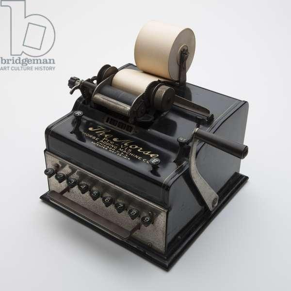 Morse Pre-Vis Adding Machine