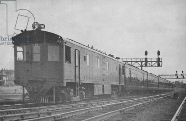 The Original Royal Blue Passenger Train Of The Baltimore And Ohio Railroad