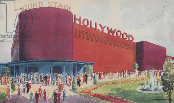 The Hollywood Exhibit Building At The Century Of Progress