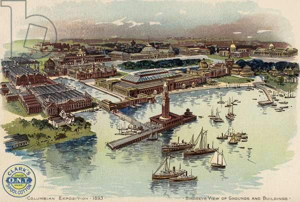 Columbian Exposition, 1893, c.1893-94 (colour litho)