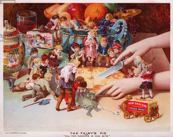 The Fairy''s Pie, c.1890 (colour litho)