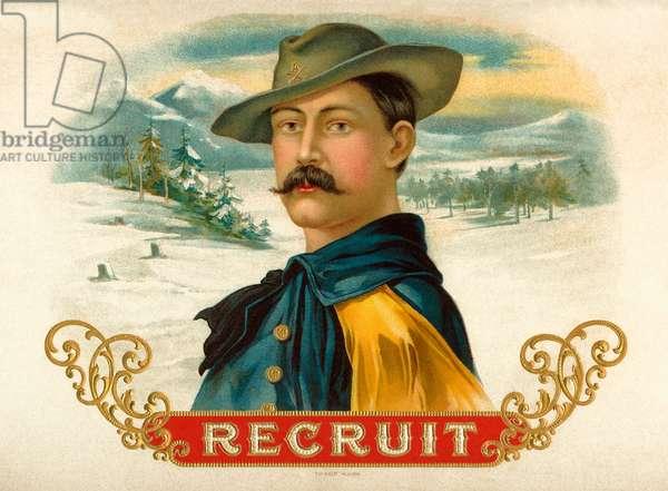 Recruit , c.1900 (colour litho)