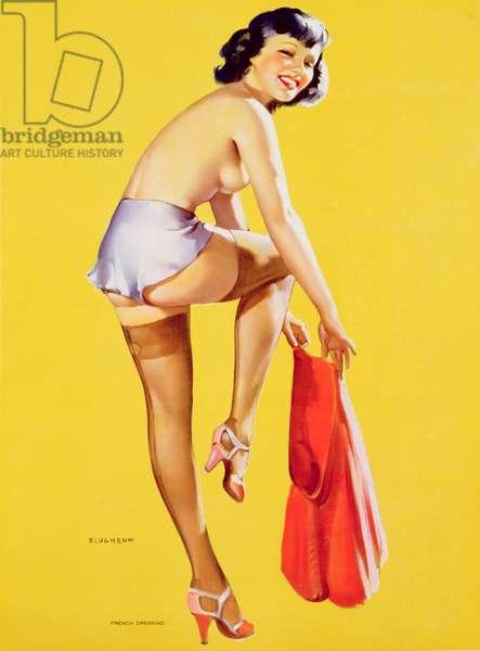 French Dressing, printed by U.I. Co., NY, 1939 (colour litho)
