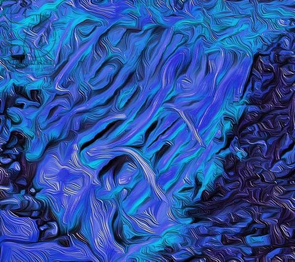 Flood, 2021 (digital)
