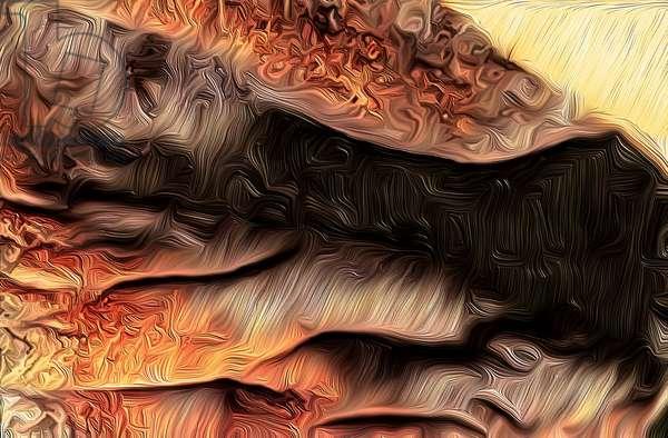 Canyon, 2021 (digital)