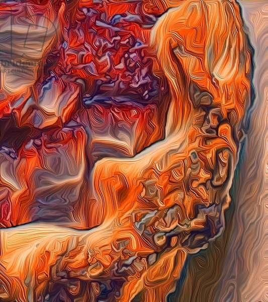 Crust, 2021 (digital)
