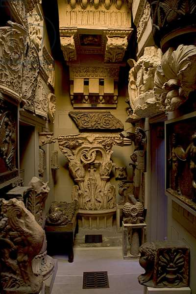 Plastercasts in the Corridor,  Sir John Soane's Museum, London (photo)
