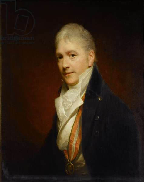 Sir Francis Bourgeois, RA, c.1810 (oil on canvas)