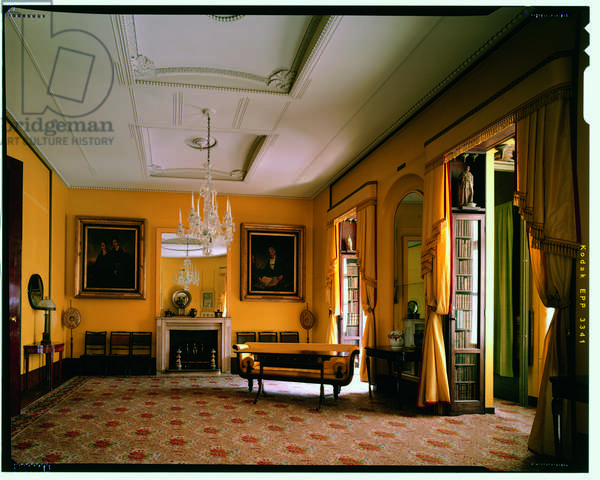 The South Drawing Room on the first floor of the house, Sir John Soane's Museum, London (photo)