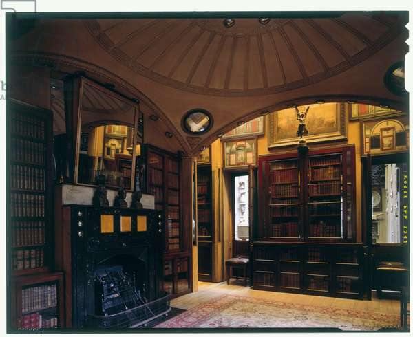 View of the Breakfast Room, Sir John Soane's Museum, London (photo)