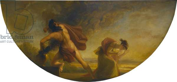 The Opening of Pandora's Vase, 1834 (oil on mahogany panel)